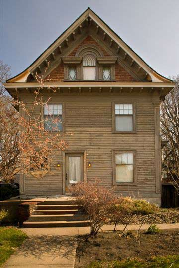 Before restoring a Victorian home paint work