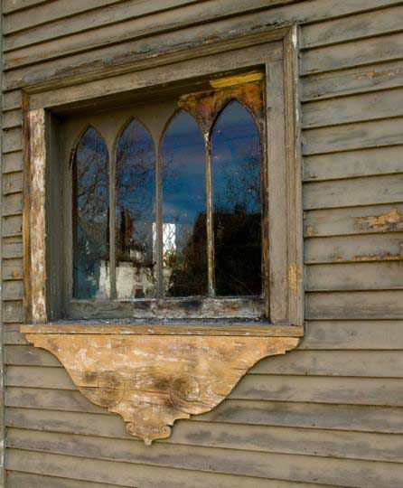 It is better to restore and paint these windows than to replace them.