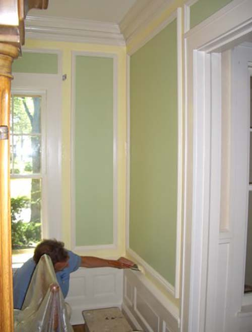 Preparing walls for special paint finishes