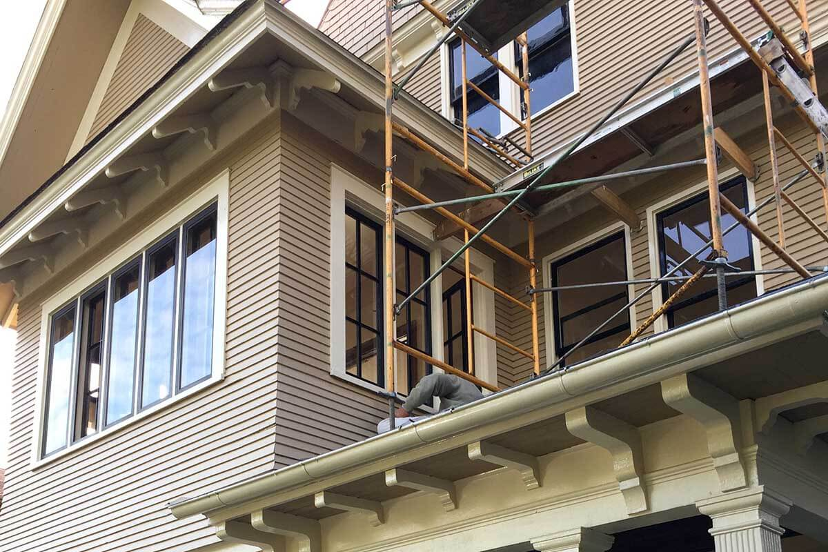 Restoring exterior envelope of Victorian home