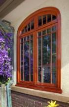 Refinishing these exceptional stained and varnished exterior-windows