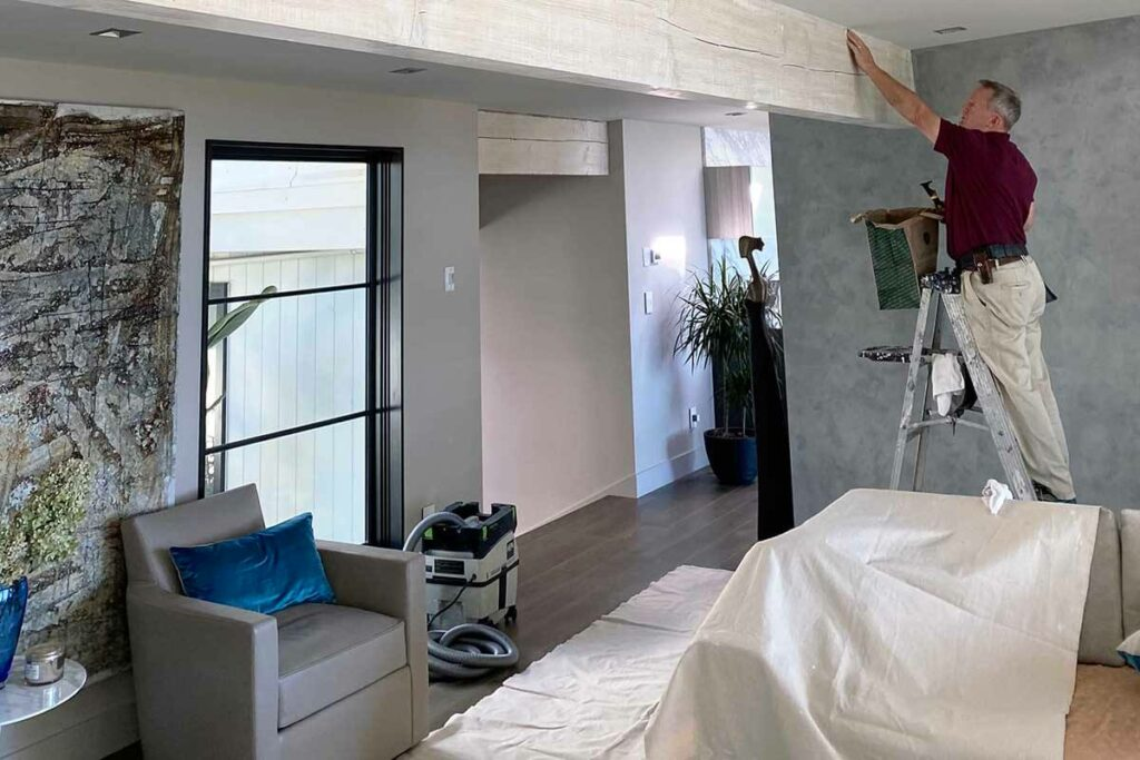 Preparing wall surfaces before painting